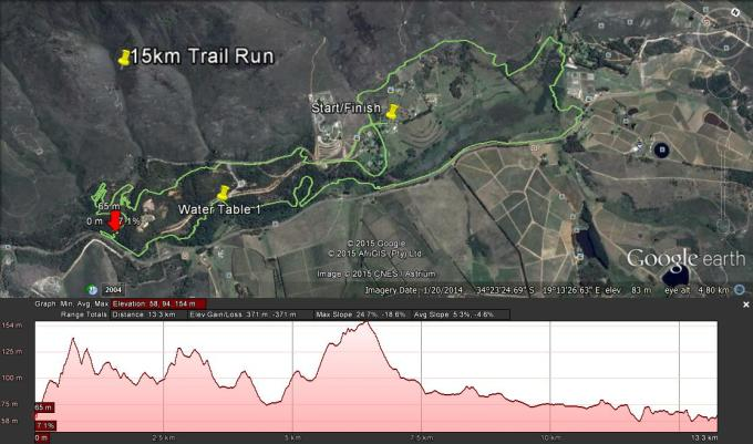 15km Trail Run