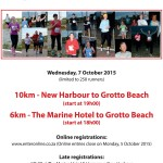 cashkows.com Cliff Path Night Run – Wednesday 7 October 2015