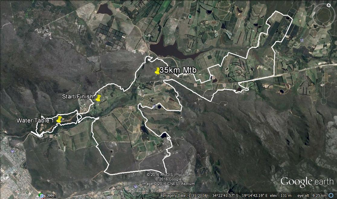 35km Mtb