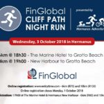 FinGlobal – Cliff Path Night Run – Wednesday 3 October 2018